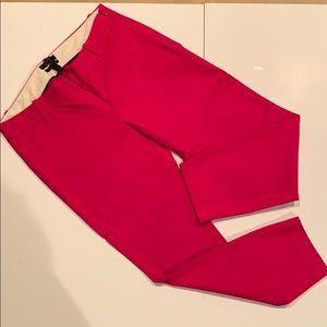 JCrew Fuchsia Minnie Pant, Size 4